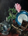 STILL-LIFE WITH A BLUE PLATE