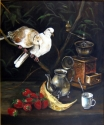 STILL-LIFE WITH COFFEE-MILL